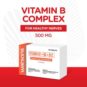 WATSONSVitamin B Complex 1 Tablet,Multivitamins and Overall WellnessBest Selling Products