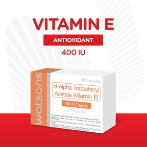 WATSONSVitamin E 400IU 1 Tablet,Multivitamins and Overall WellnessBest Selling Products