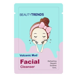 BEAUTYTRENDSVolcanic Facial Mud Cleanser 10g,For WomenFree (1) Watsons Dermaction Plus Antiacne St20x2 for every purchase of Skin Care products