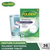Whitening Daily Cleanser Denture 36 Tablets