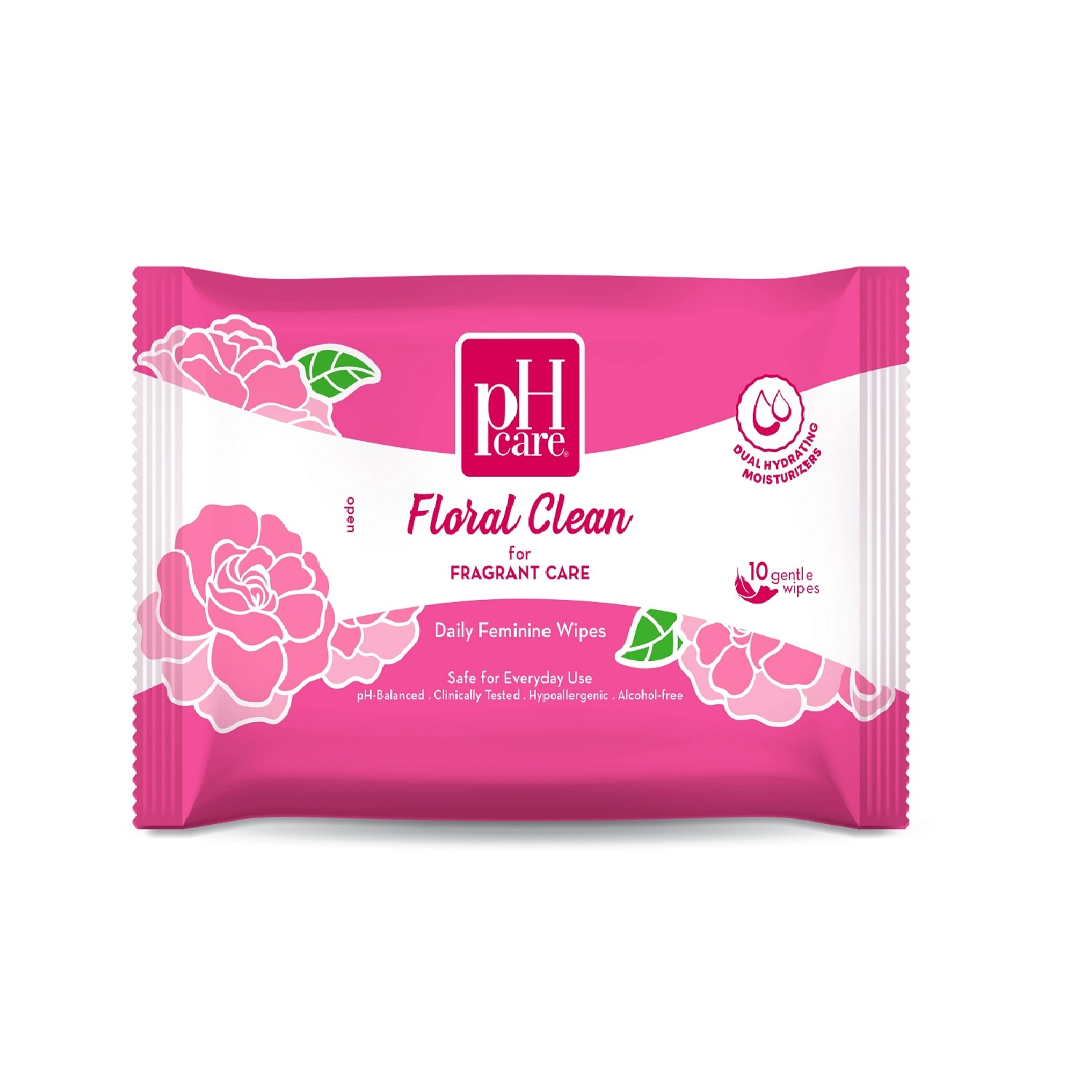 Floral Clean Wipes 10S