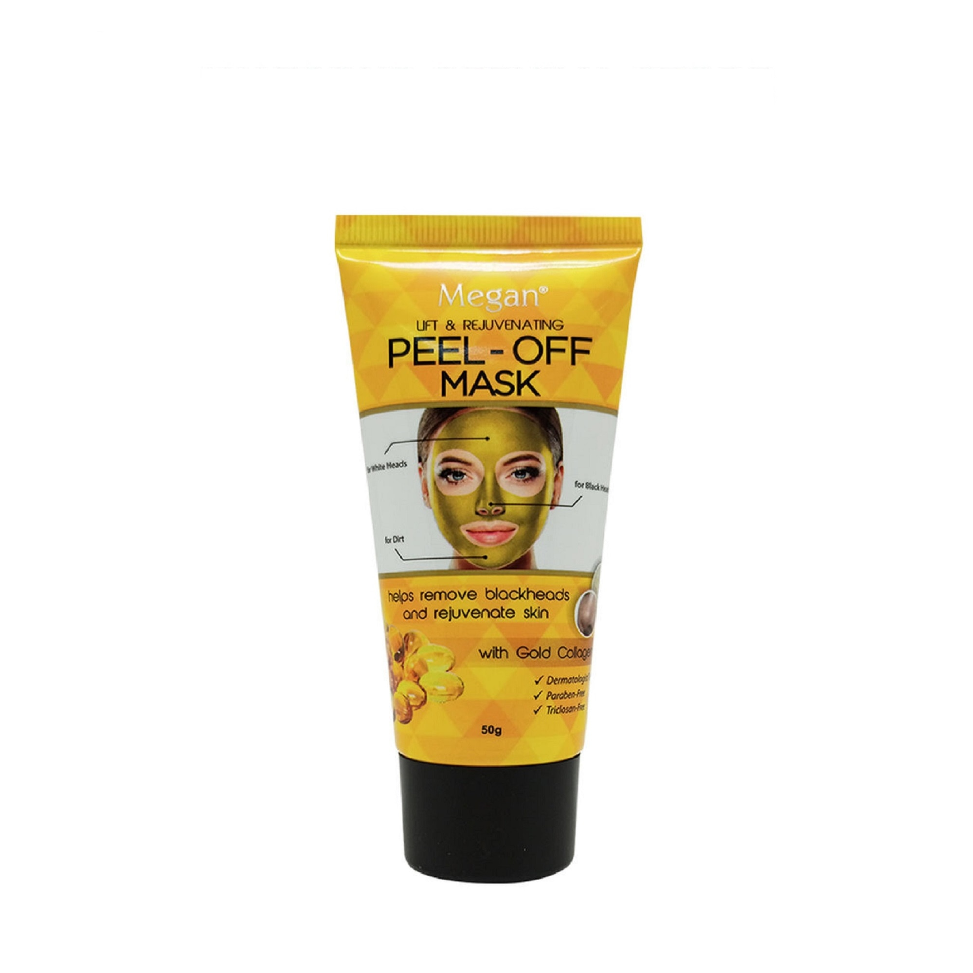 Gold Collagen Peel Off Clay Mask 50g
