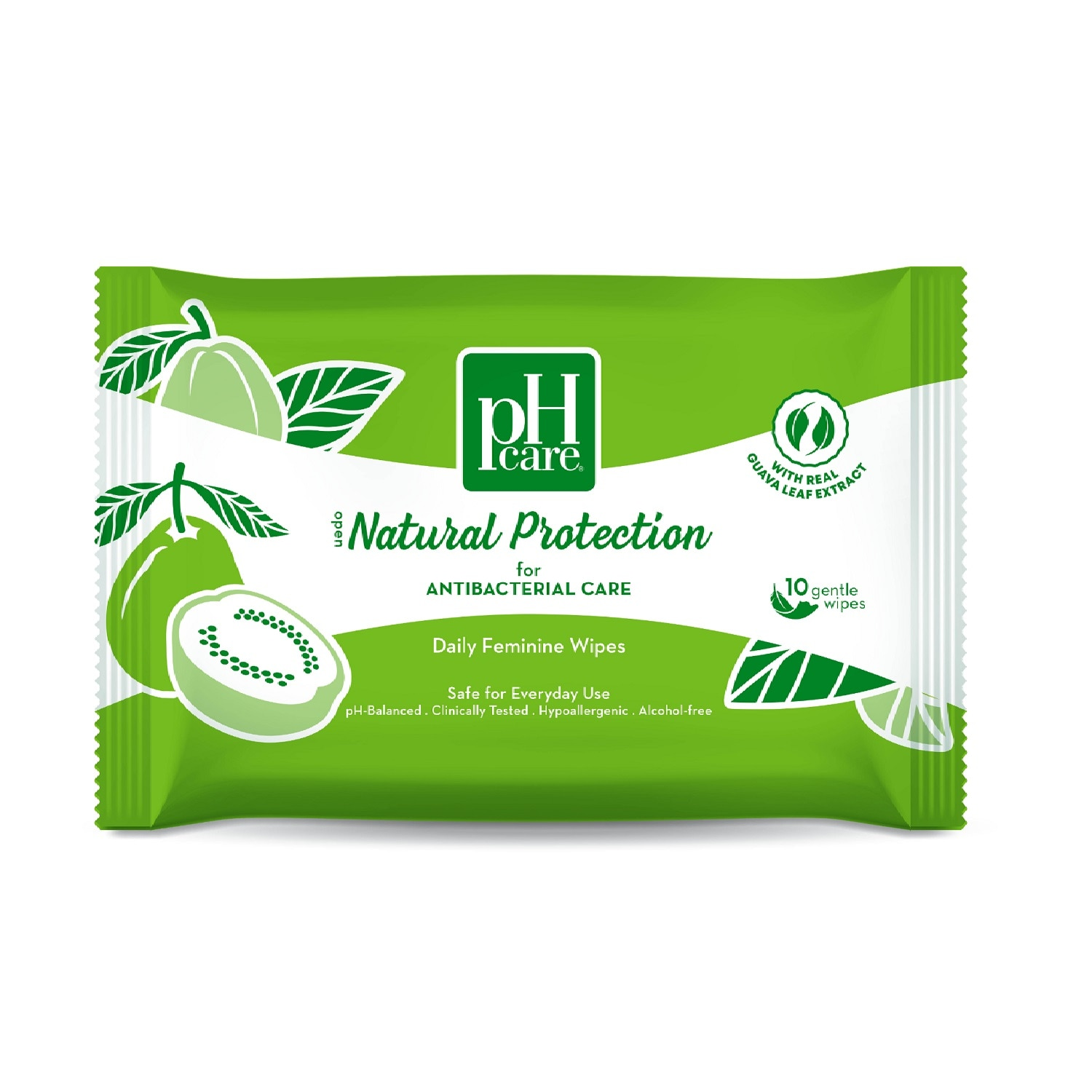 Natural Protection Wipes 10S