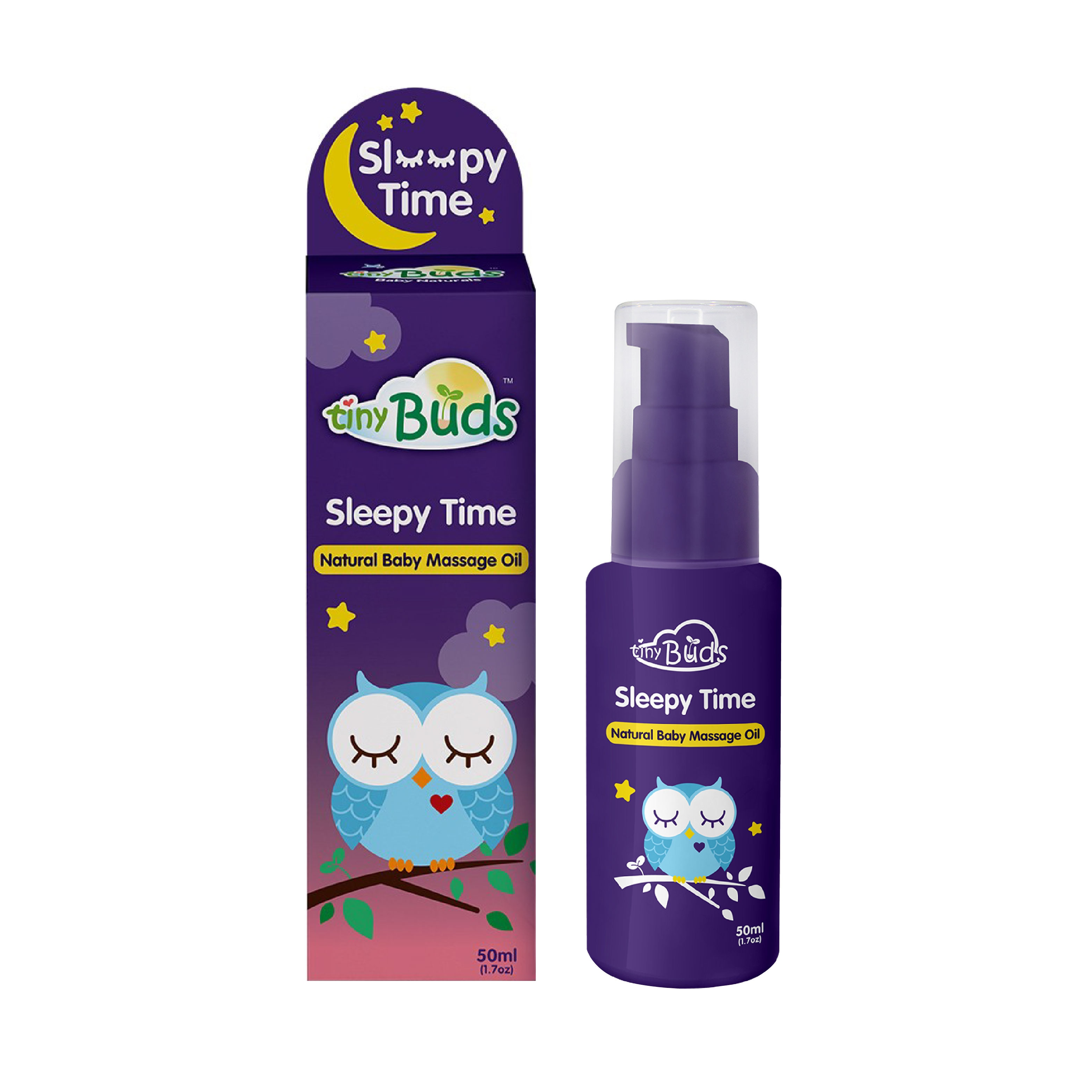 Sleepy Time Natural Baby Massage Oil 50ml
