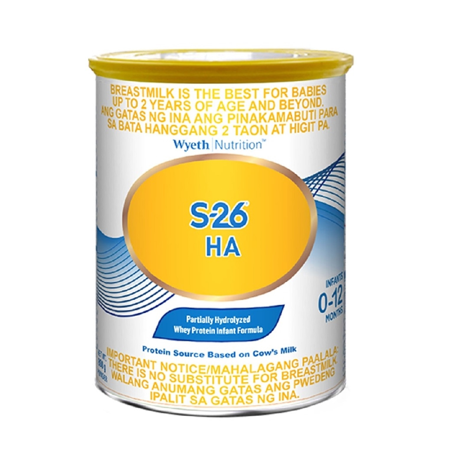 HA GOLD® Partially Hydrolyzed Whey Protein Infant Formula for 0-12 months 800g