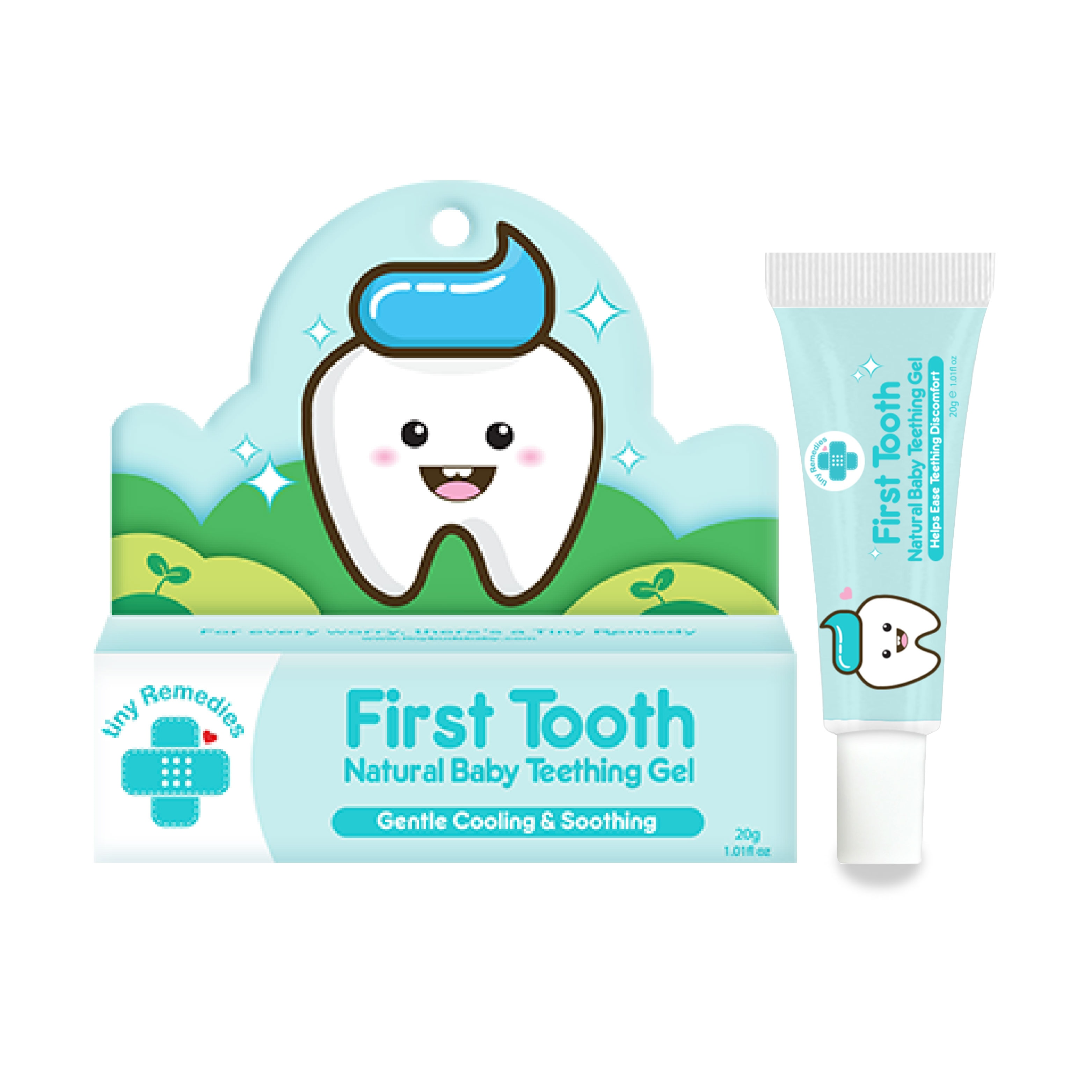 Remedies First Tooth Natural Baby Teething Gel 20g