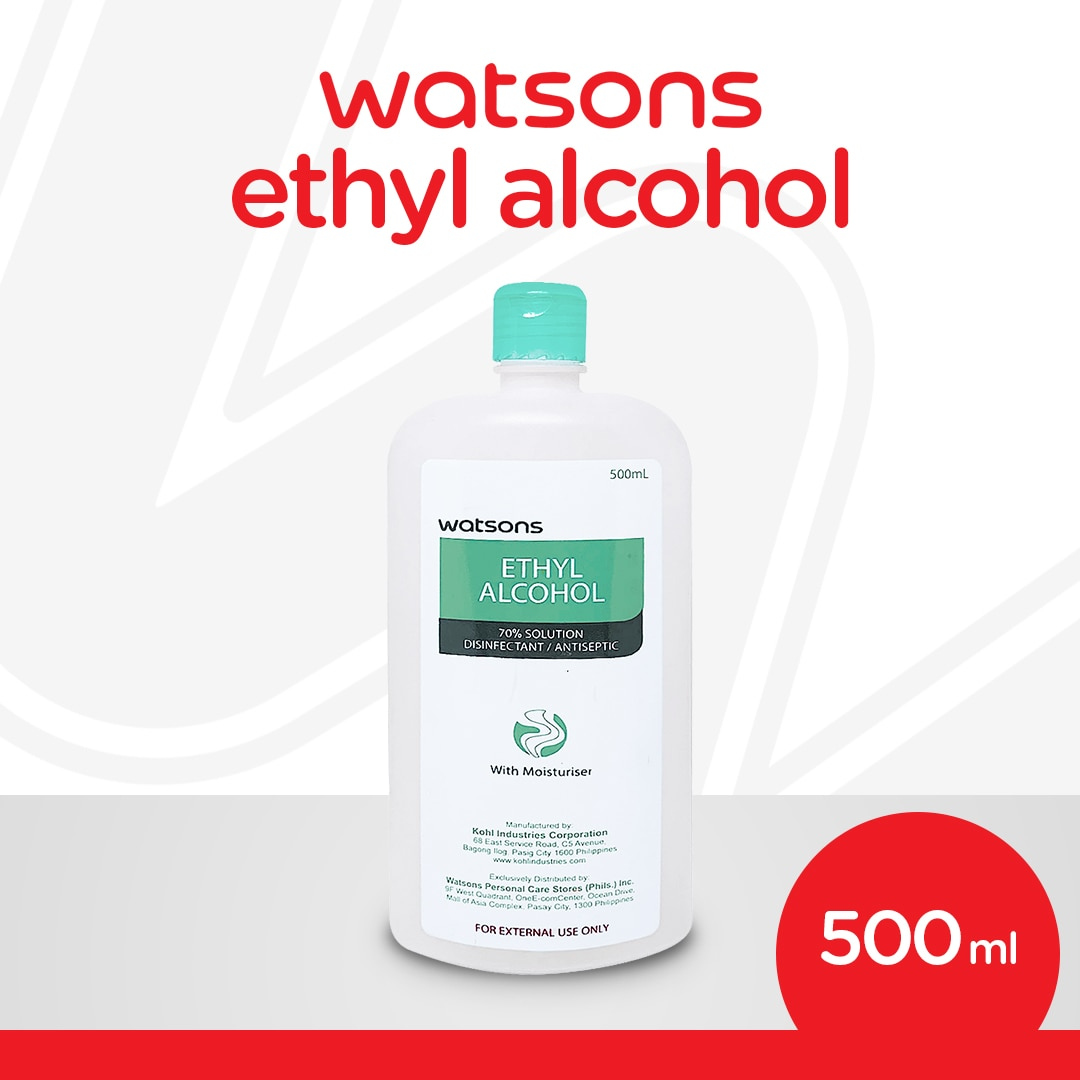Ethyl Alcohol 70% Solution Disinfectant/Antiseptic 500mL