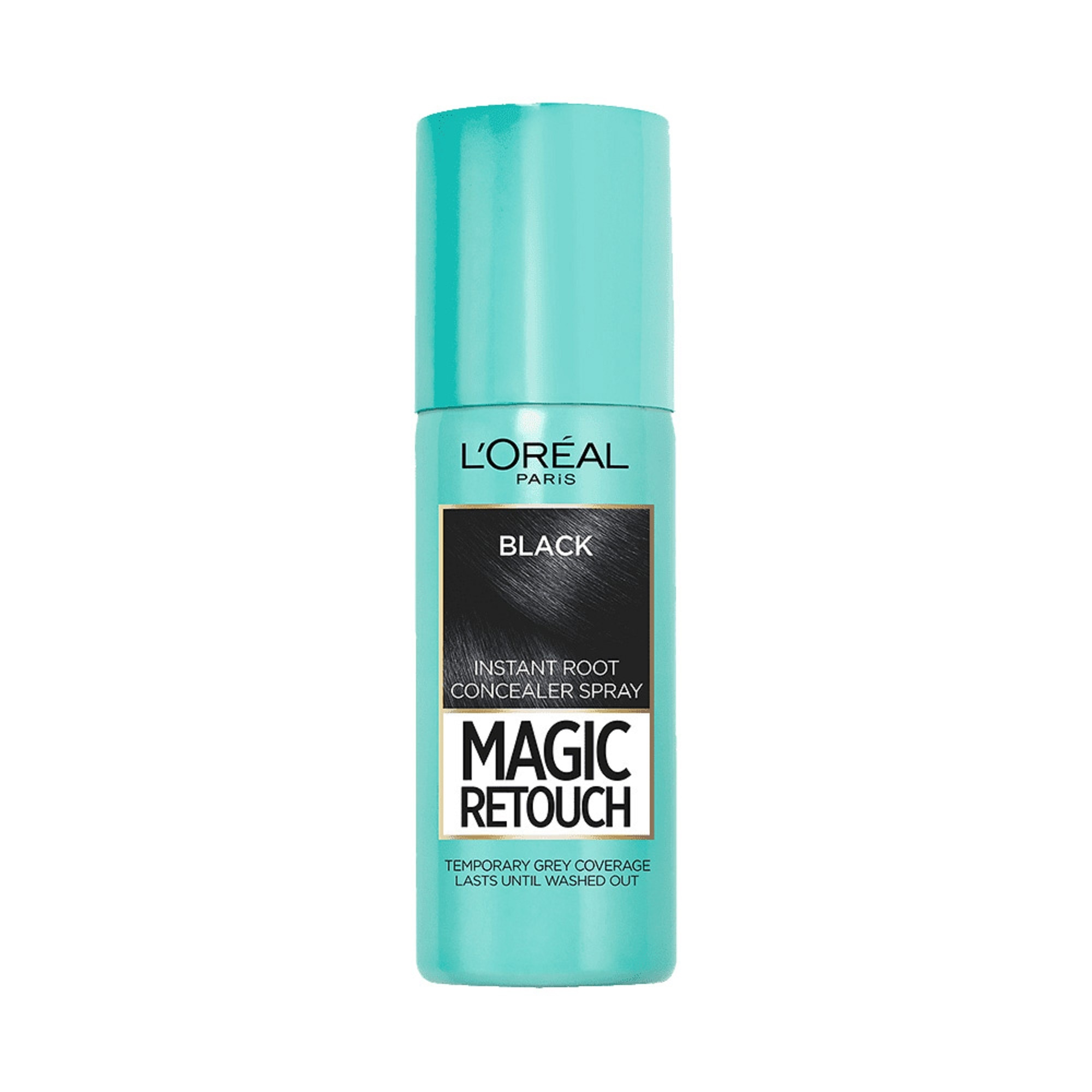 Magic Retouch (Instant Gray Root Concealer Spray) - Black by L'Oreal Paris