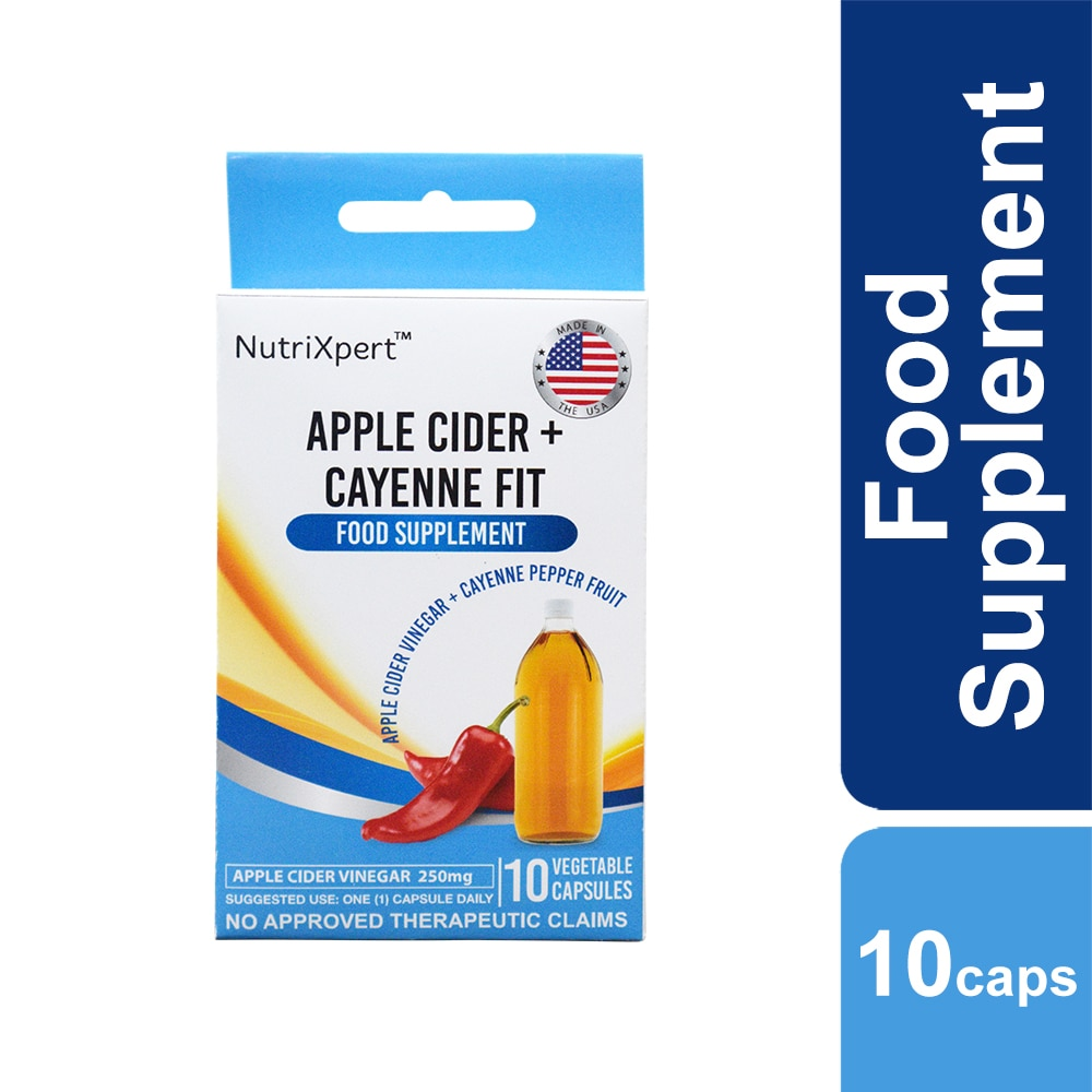 Apple Cider + Cayenne Fit 10 Capsule