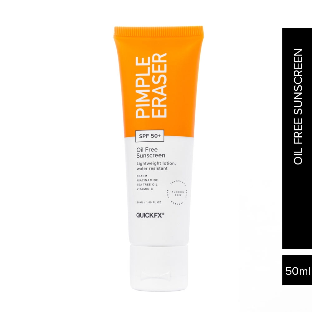 Pimple Eraser Oil Free Sunscreen with SPF 50+ 50ml