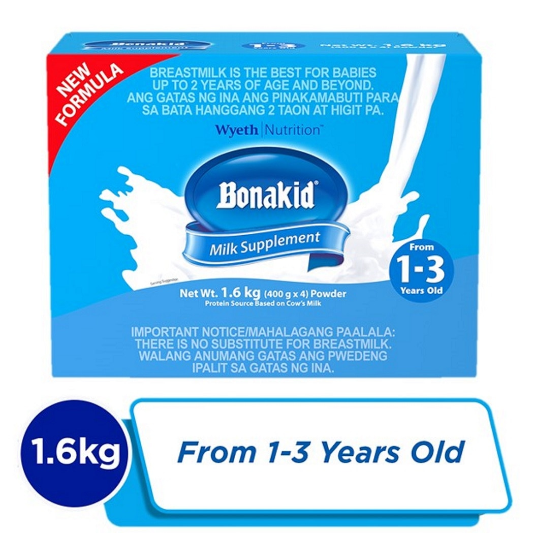Stage 3 Powdered Milk Drink for Children 1 to 3 years old 1.6kg