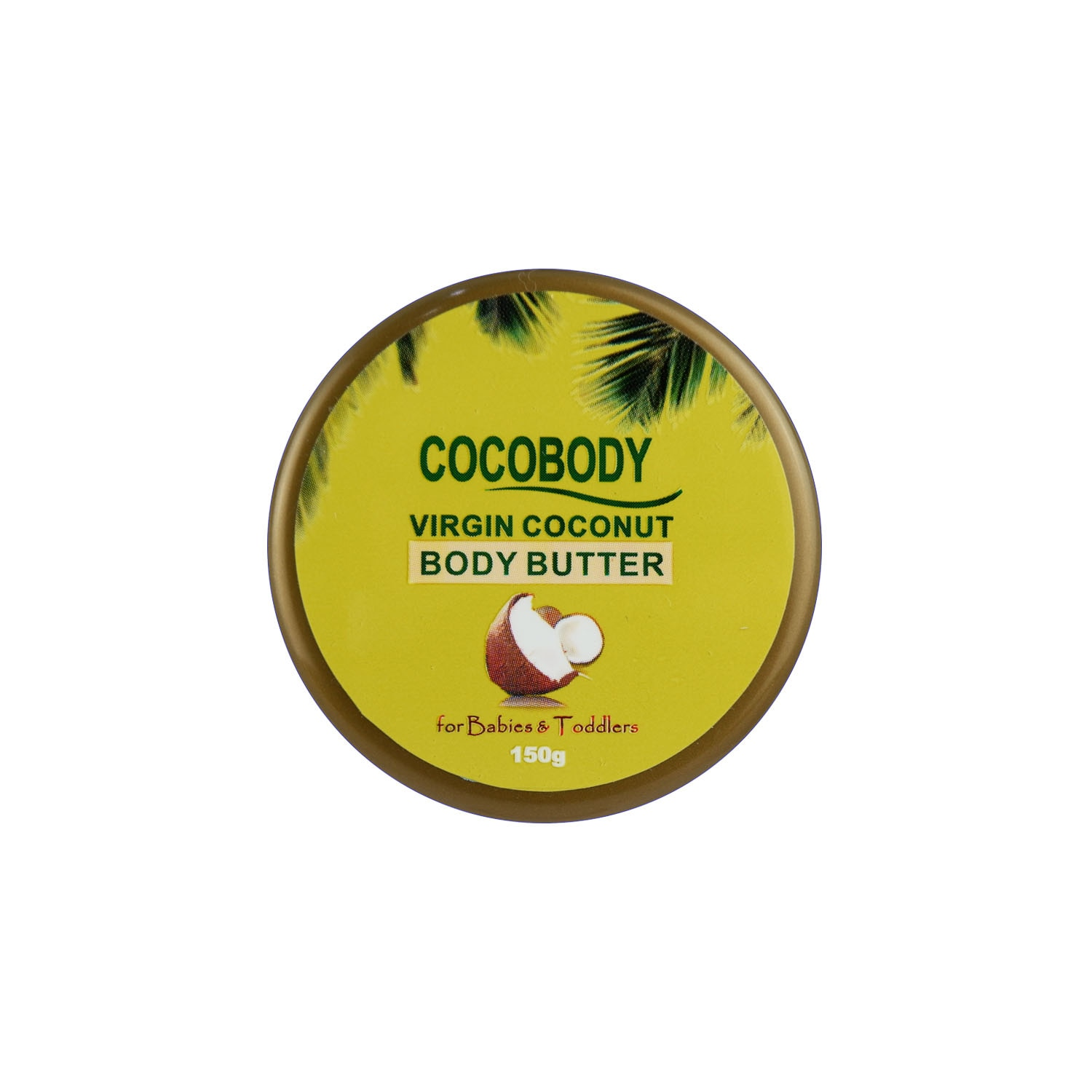 Virgin Coconut Body Butter for Babies & Toddlers 150g