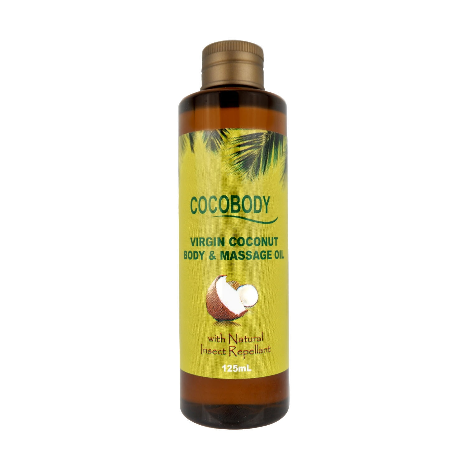Body & Massage Oil with Natural Insect Repellant 125mL