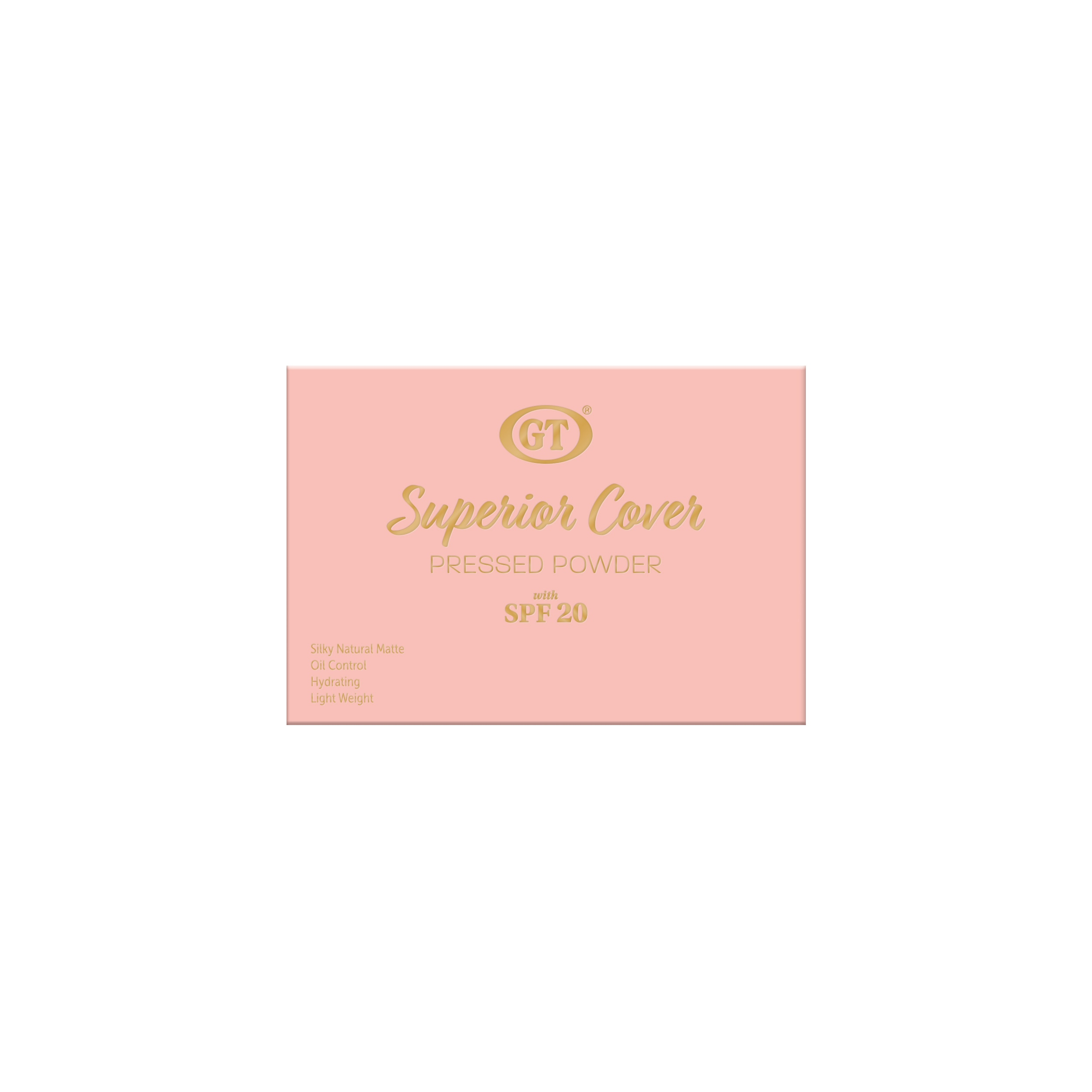Pressed Powder Superior Cover with SPF20 - Natural Beige 6g
