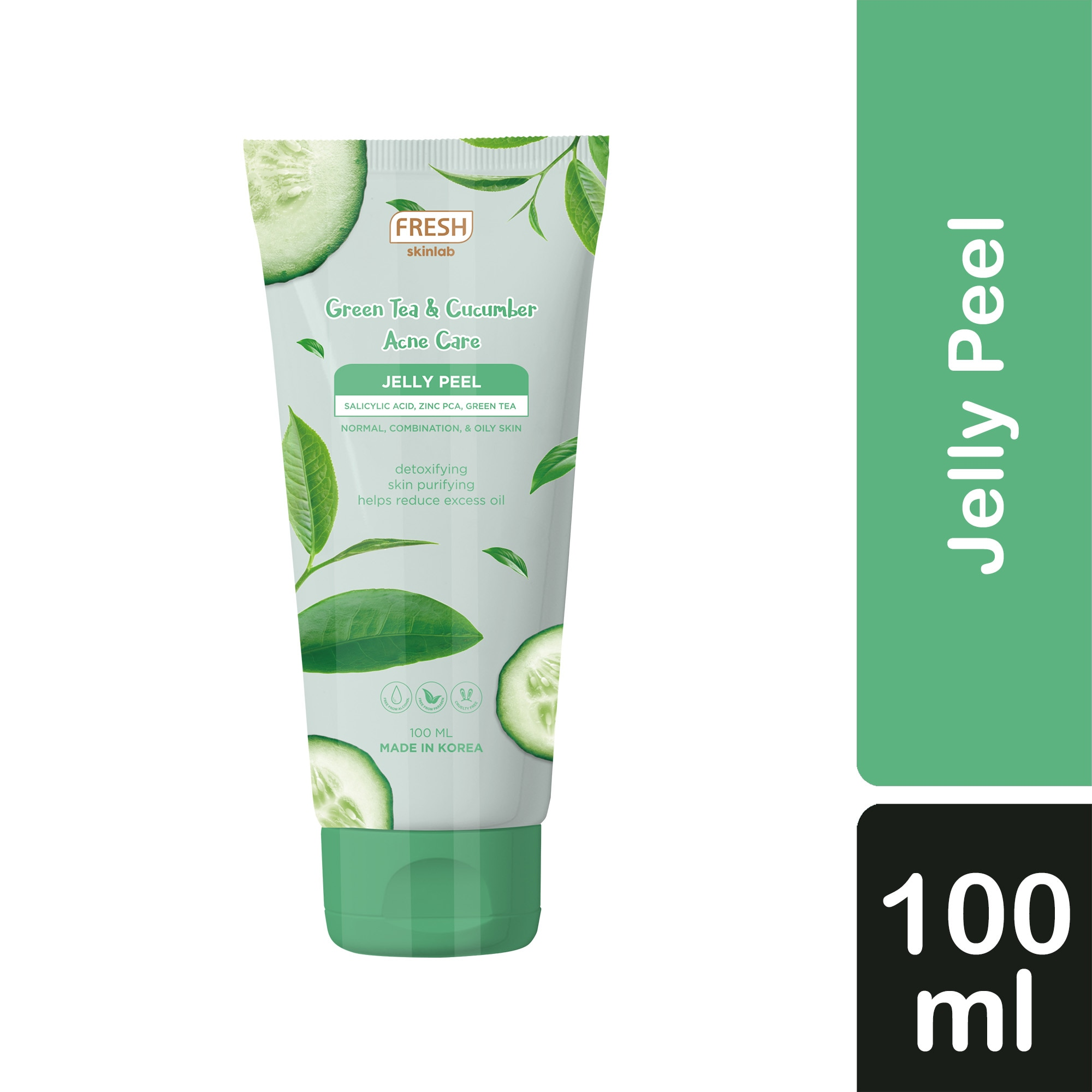Skinlab Green Tea and Cucumber Acne Care Jelly Peel 100ml