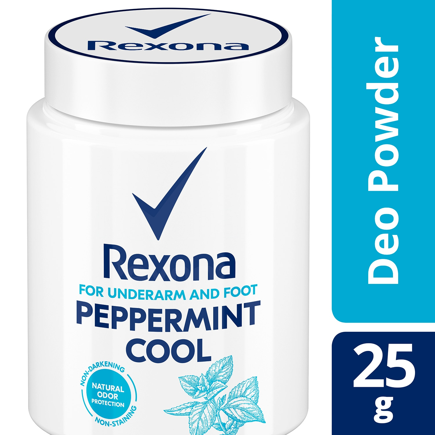 3-In-1 Deo Powder Peppermint Cool 25g