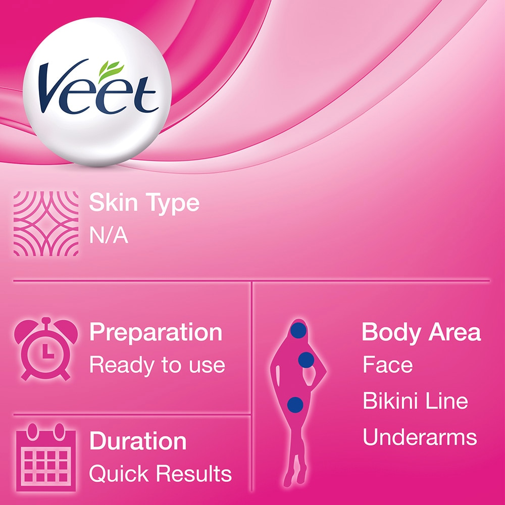 VEETCold Wax Strips for Legs 12s (Normal Skin),For WomenHELLOWT