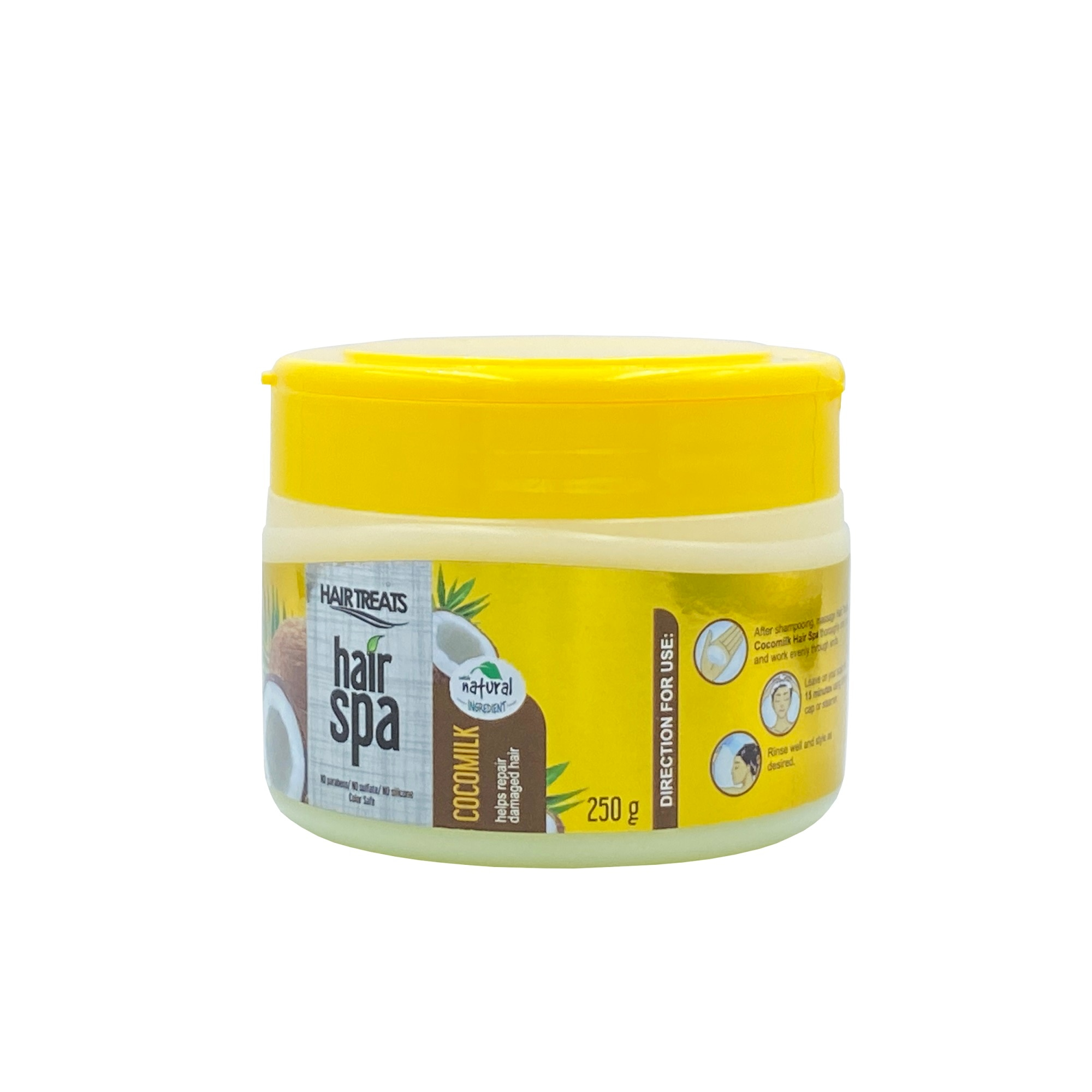 HAIR TREATSSilky Straight Hair Spa Coco Milk 250g,MasksWhat A Splash: All Products