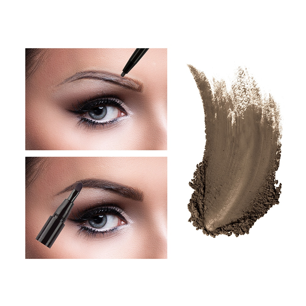 ABSOLUTE NEW YORK2 In 1 Brow Perfecter Honey Brown 4g,BrowWCFREEDELIVER