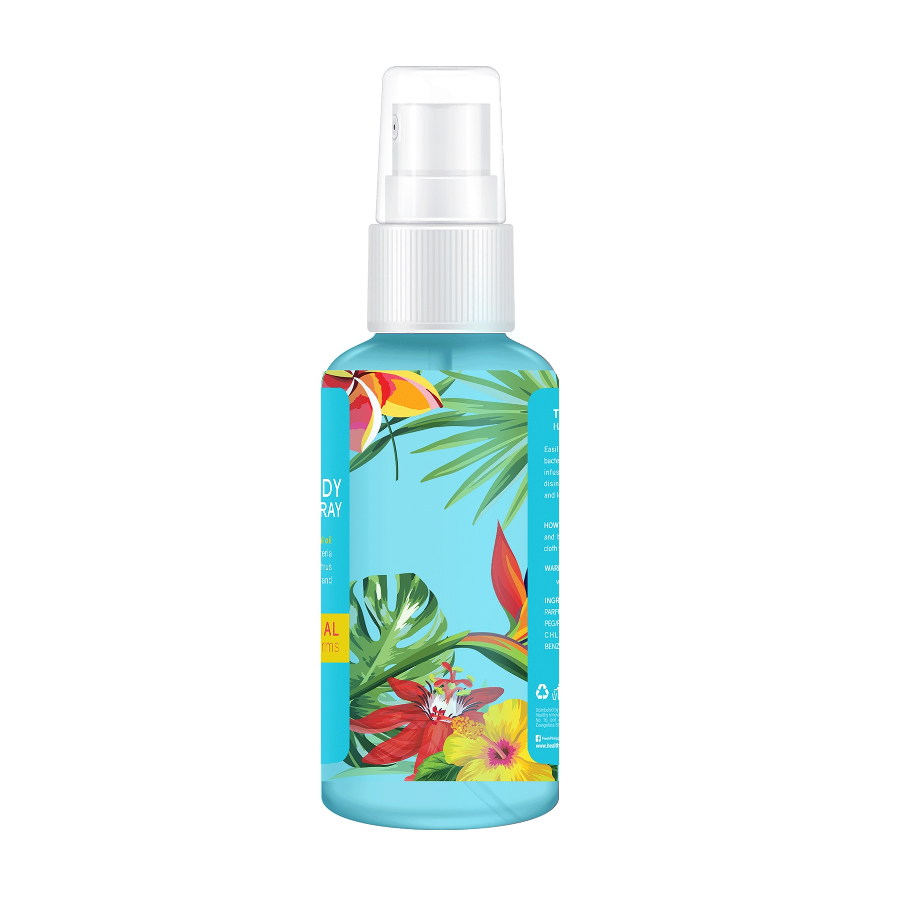 FRESHTropical Wave Hand and Body Sanitizer Spray 100ml,First Aid Accessories
