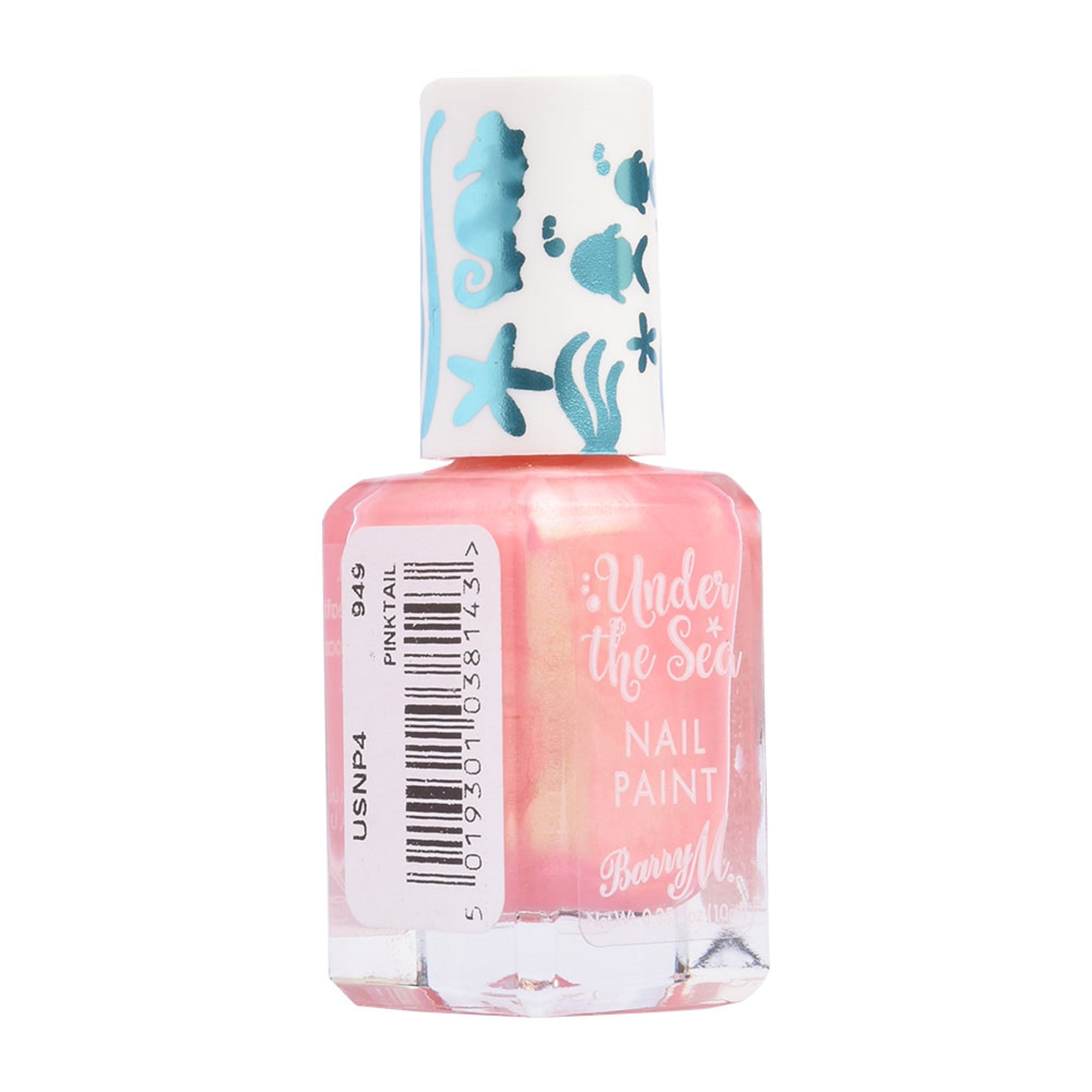 BARRY MUnder the Sea Pinktail Fish Nail Paint 10ML,Nail Polish and AccessoriesWATSONS EMP. DISC.