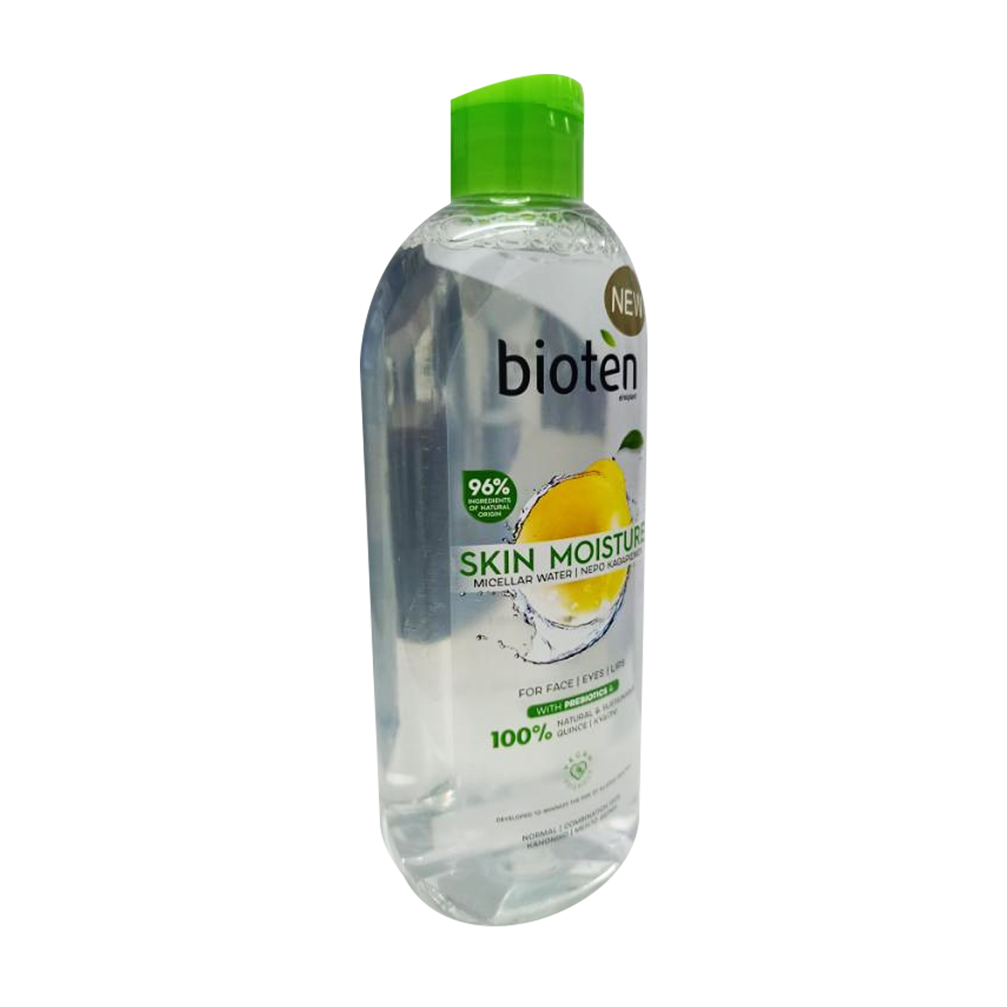 BIOTENSkin Moisture Micellar Water For Face, Eyes And Lips Normal/Combination Skin 400 ml,For MenClean Beauty