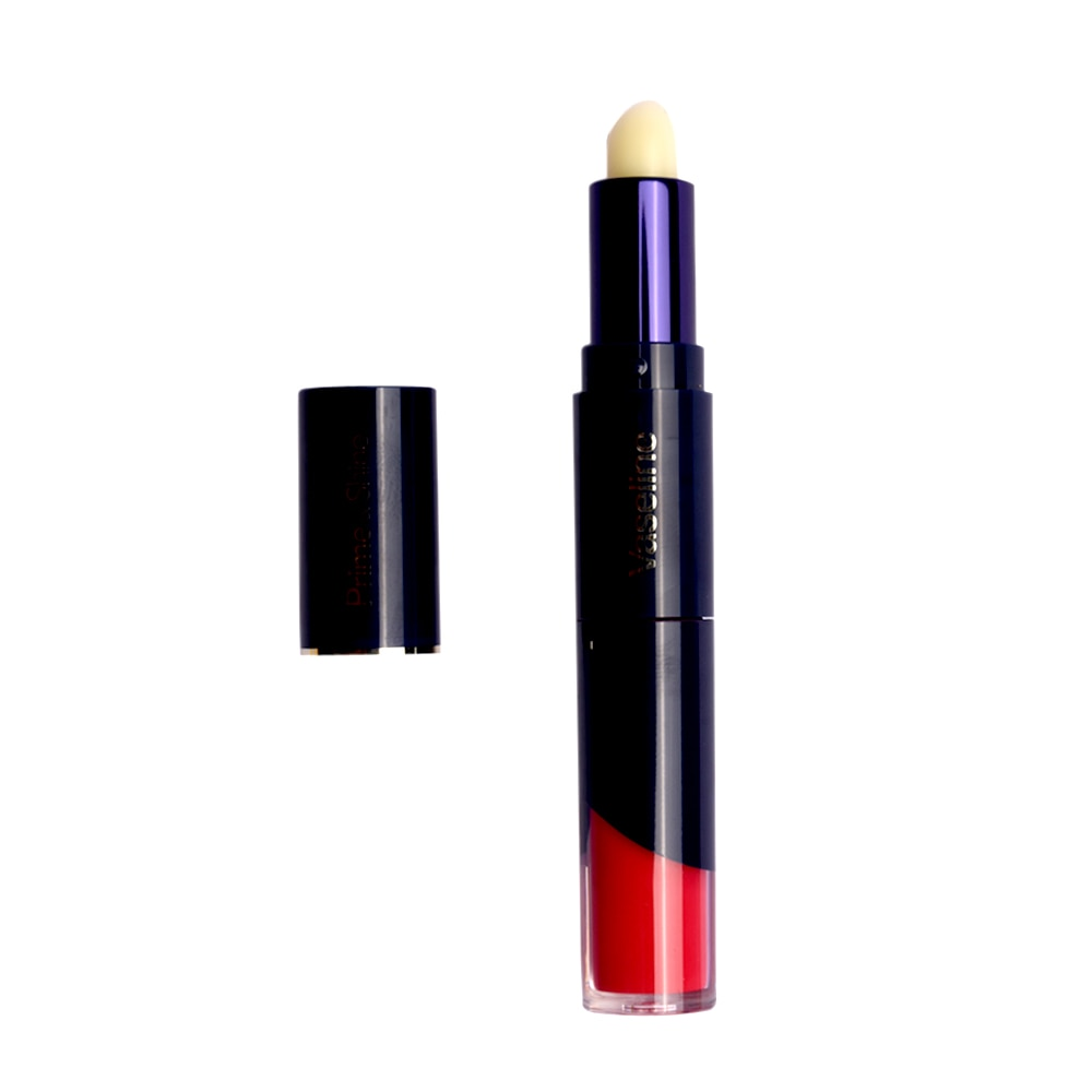 VASELINEPrime & Shine Lip Balm + Colored Lip Lacquer - 05 Chic Rose 4.6g,For WomenSummer Glow