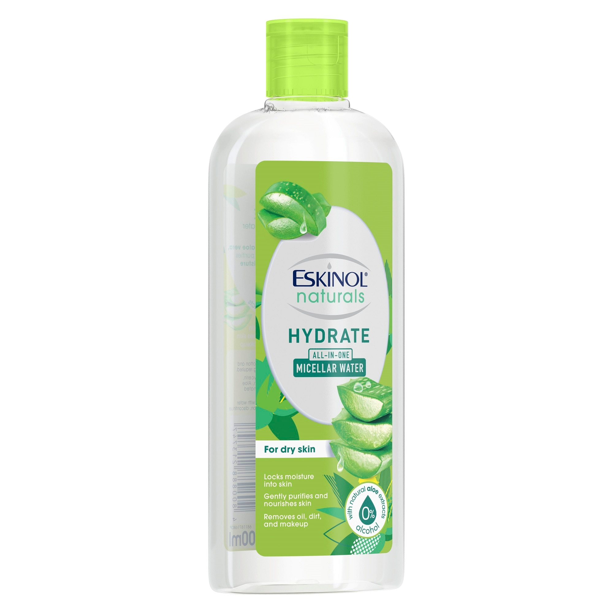 ESKINOLNaturals Micellar Water Hydrate  with Natural Aloe Extracts 200ml,For WomenEarth Day Sale