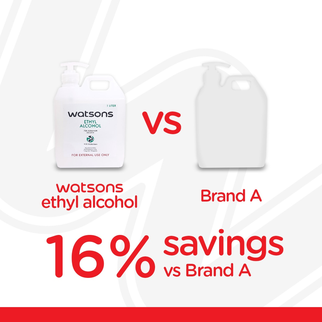 WATSONSEthyl Alcohol 1 Liter Pump,Alcohol and Disinfectant
