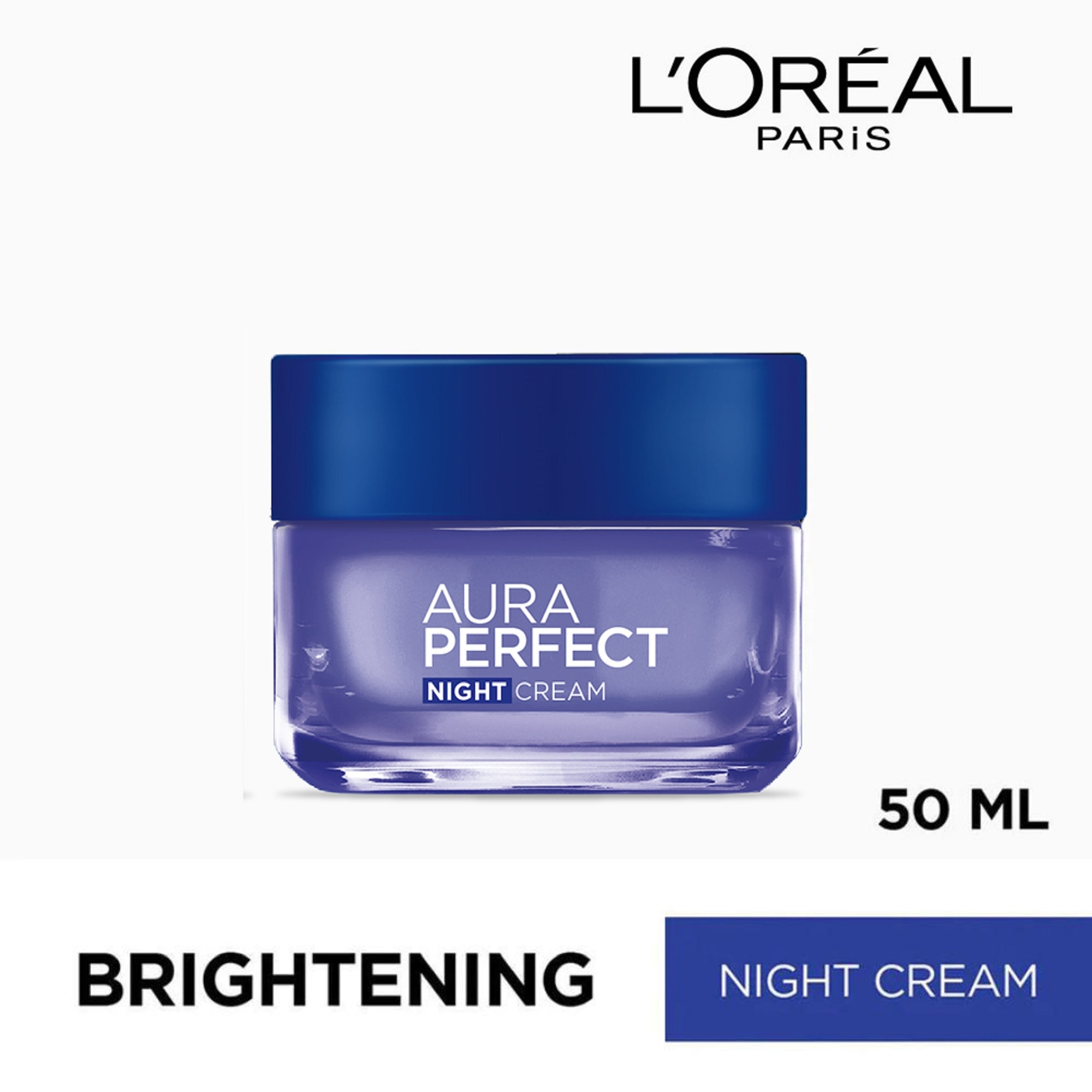 LOREALParis White Perfect - Night Cream 50mL,For WomenFree (1) Watsons Dermaction Plus Antiacne St20x2 for every purchase of Skin Care products