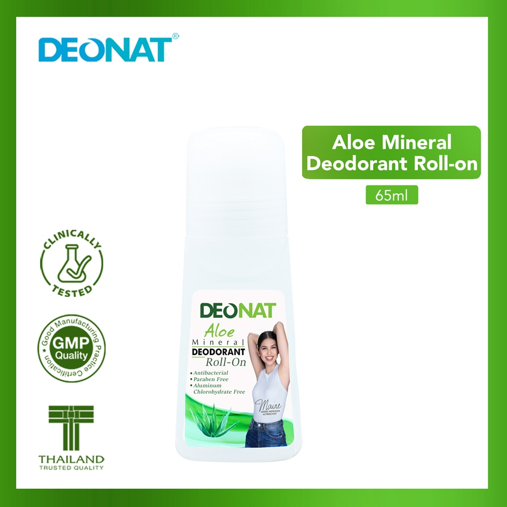 DEO NATAloe Mineral Deodorant Roll-On 65ml,DeodorantBest Selling Products