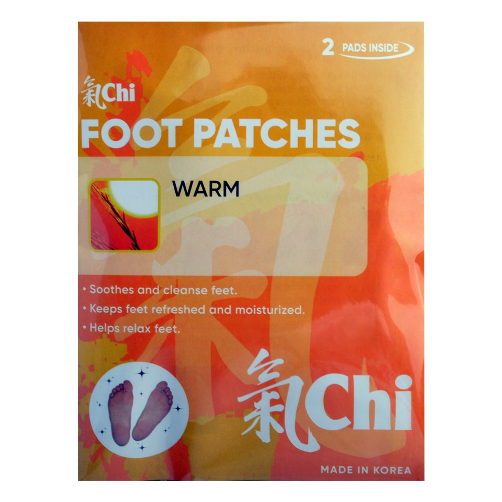CHI FOOTFoot Patches Warm 2 Patches,Foot Care