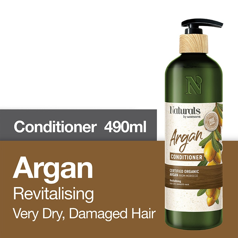 NATURALS WSArgan Oil Hair Conditioner 490ml,Treatment CondtionerEarth Day Sale