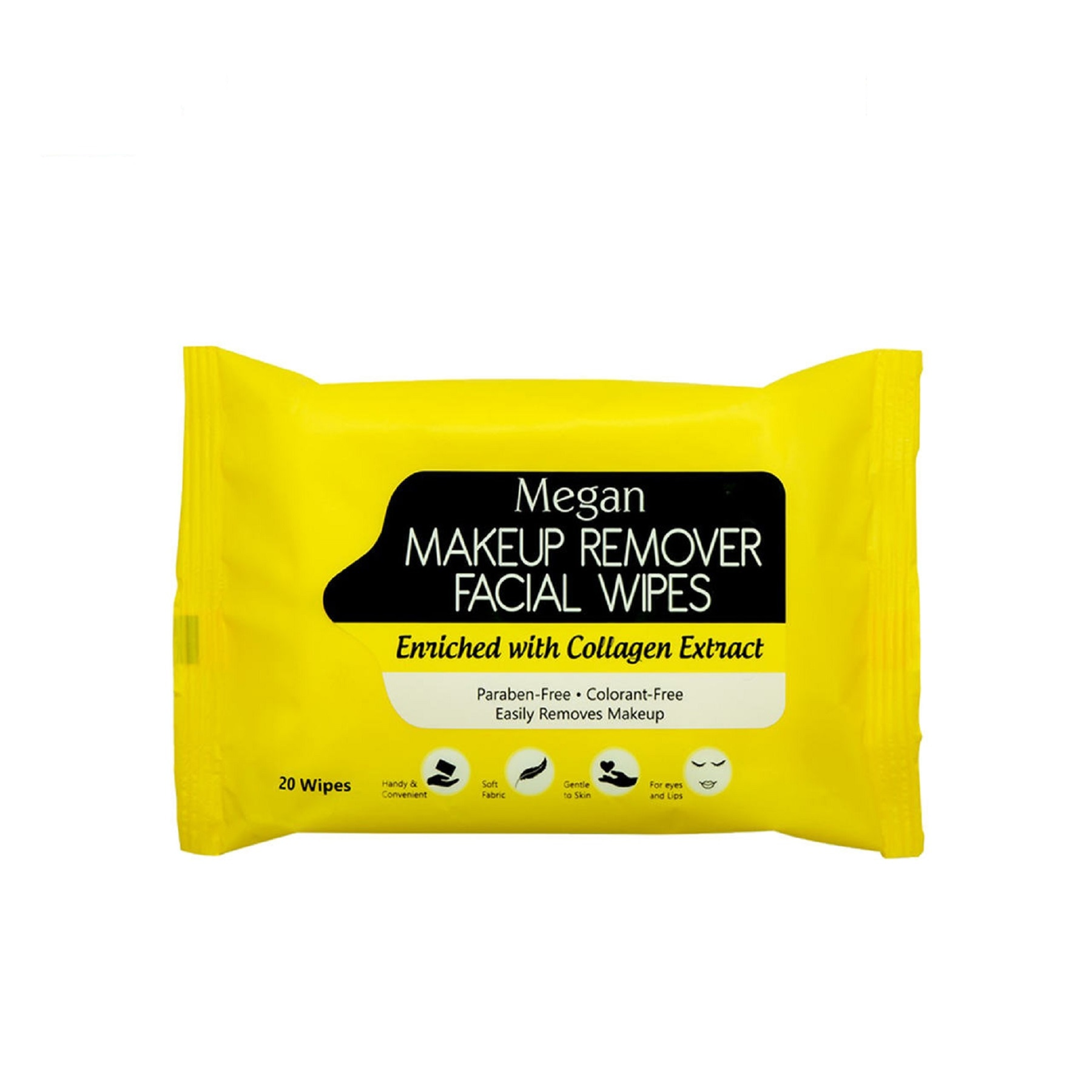 MEGANMake-up Remover Wipes with Collagen,Make up removerHot Summer Drops