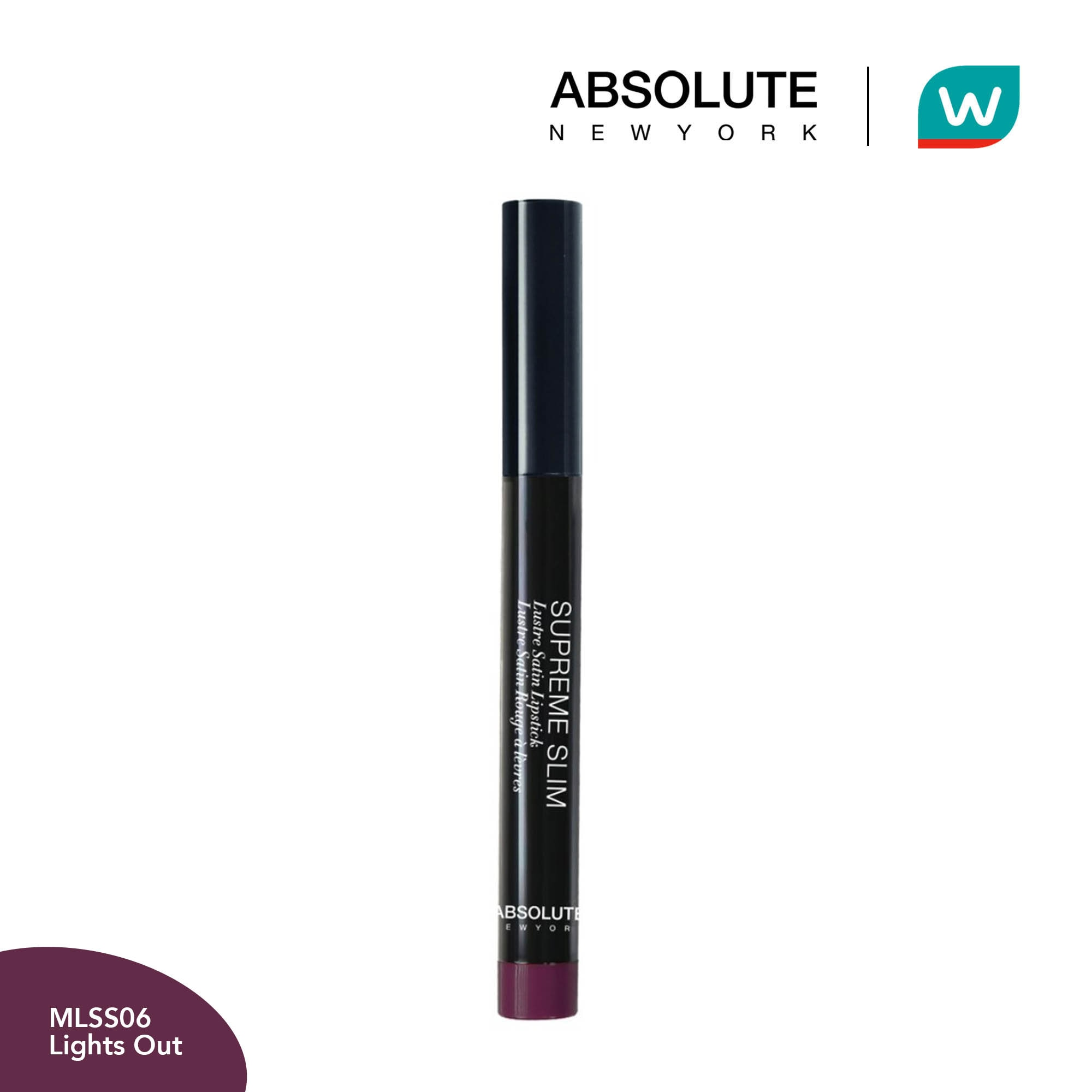 ABSOLUTE NEW YORKSupreme SLS Lights Out 1.3g,Lipstick , Lip Tint and LiplinersWCFREEDELIVER