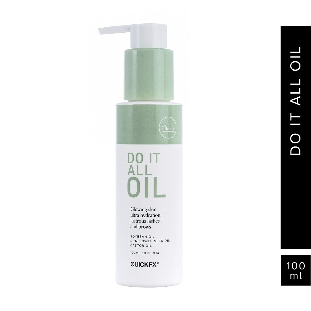 QUICKFXClean Collection Do It All Oil 100ml,Facial TreatmentEarth Day Sale