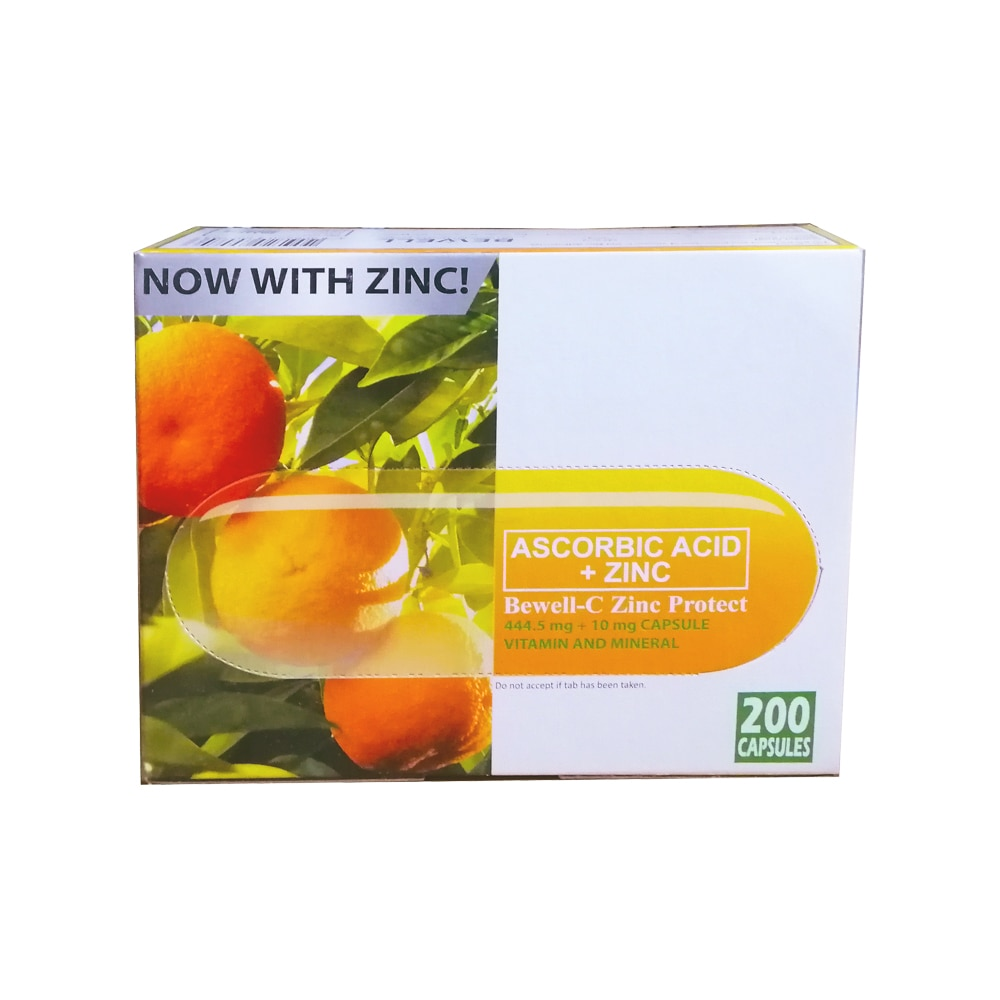 BEWELL CZinc Protect/ Non-Acidic Vitamin C With Zinc Capsule,Immunity and EnergyBest Selling Products