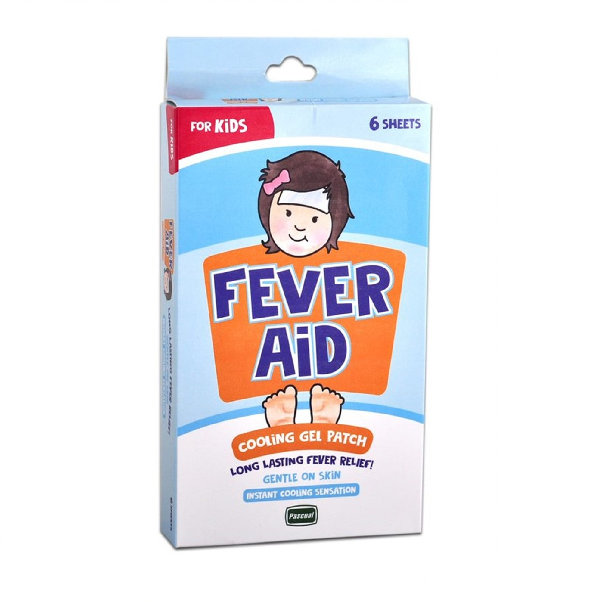 FEVER AIDCooling Gel Patch For Kids 6s,First Aid Accessories