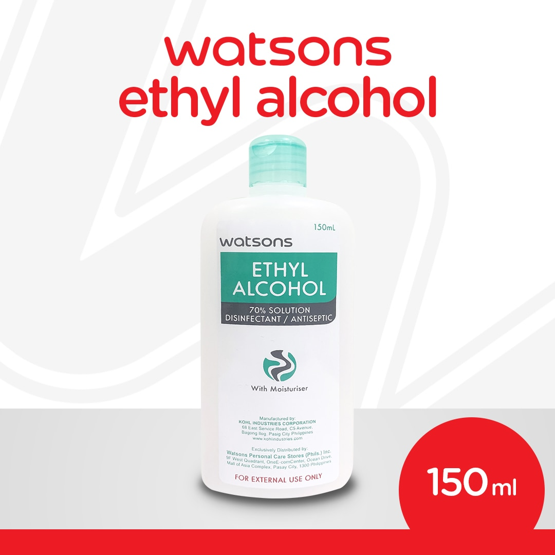 WATSONSEthyl Alcohol 150ml,Alcohol and Disinfectant