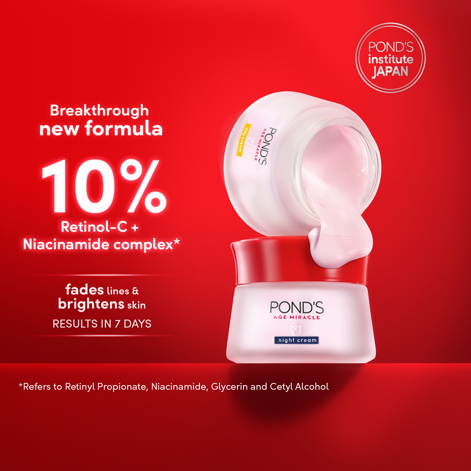 PONDSPonds Age Miracle Day Cream 50g,For WomenSummer Glow