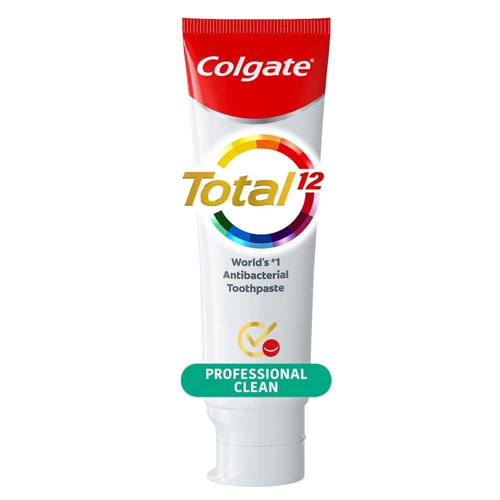 COLGATETotal Professional Clean Whole Mouth Health Toothpaste 80g,ToothpasteClean Beauty