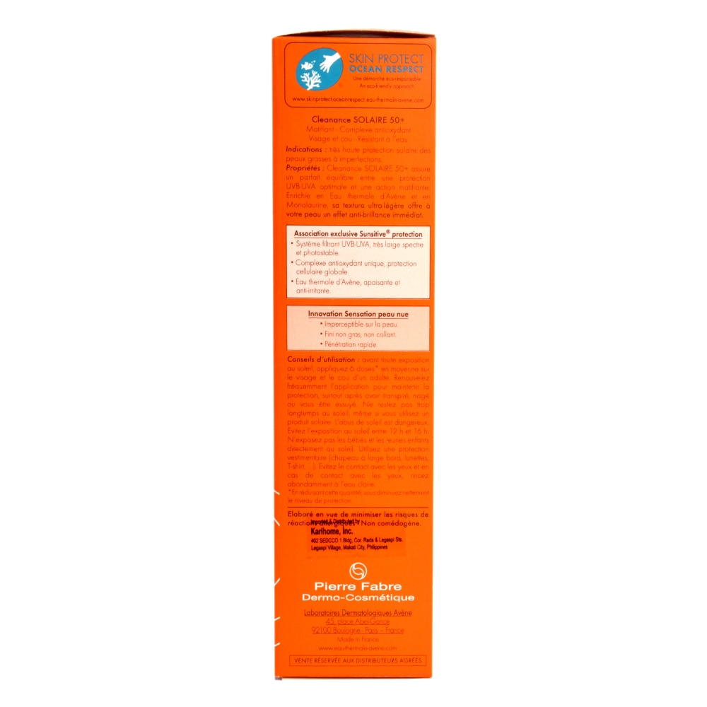 AVENECleanance Solaire SPF50+ 50ml,Face and Body Suncaresensitive skin solutions