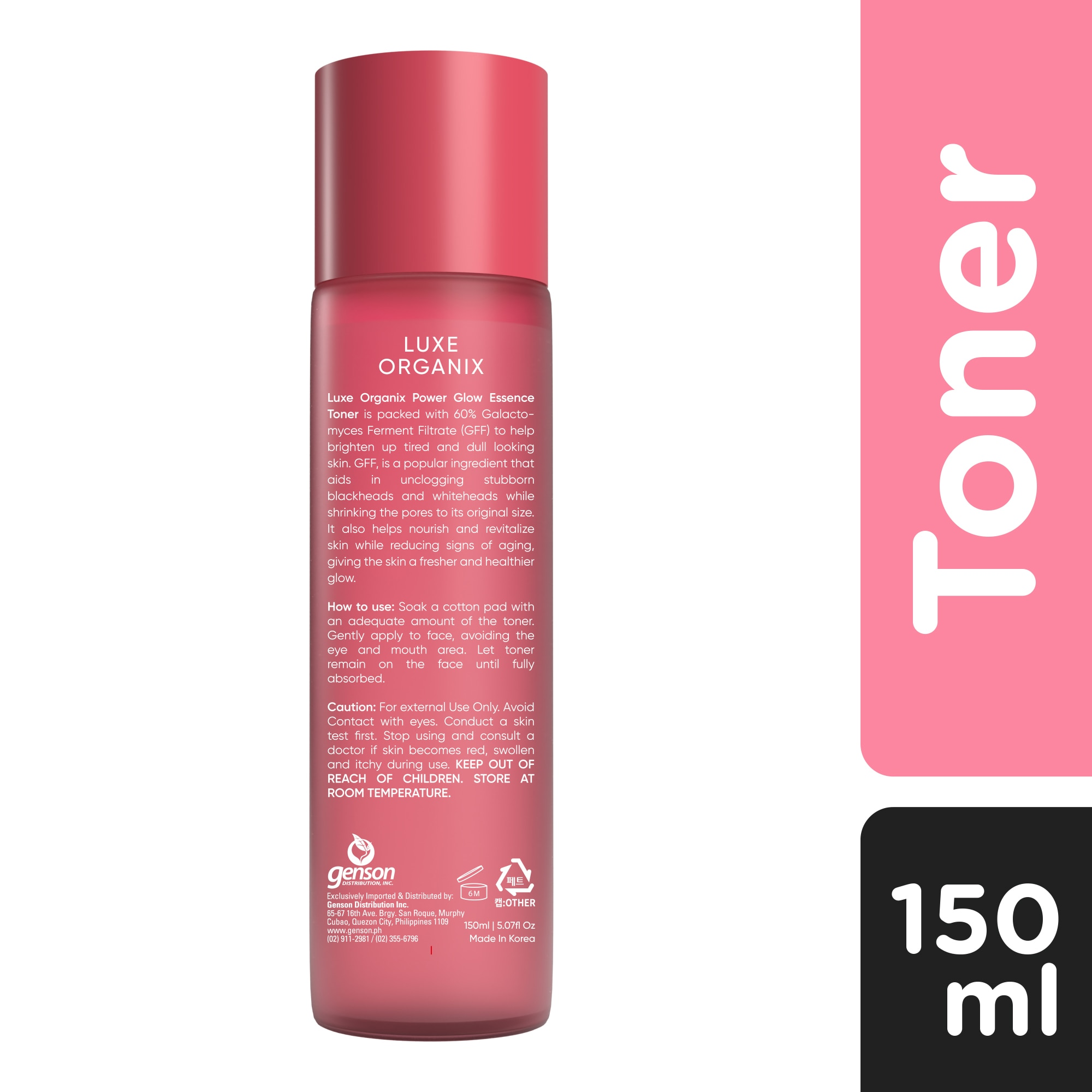 LUXE ORGANIXLuxe Organix Power Glow Essence Toner 150ml,For WomenBest Selling Products