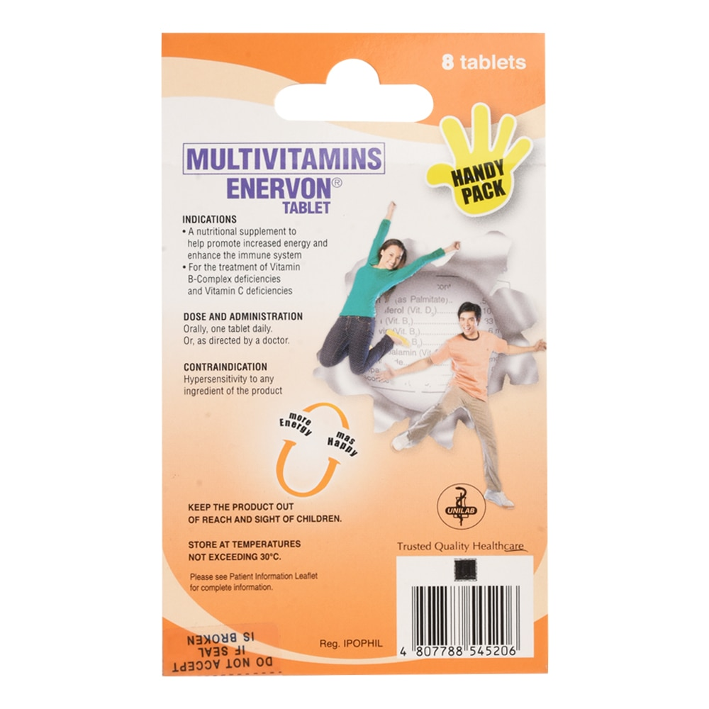 ENERVONTab Pack of 8s,Multivitamins and Overall Wellness