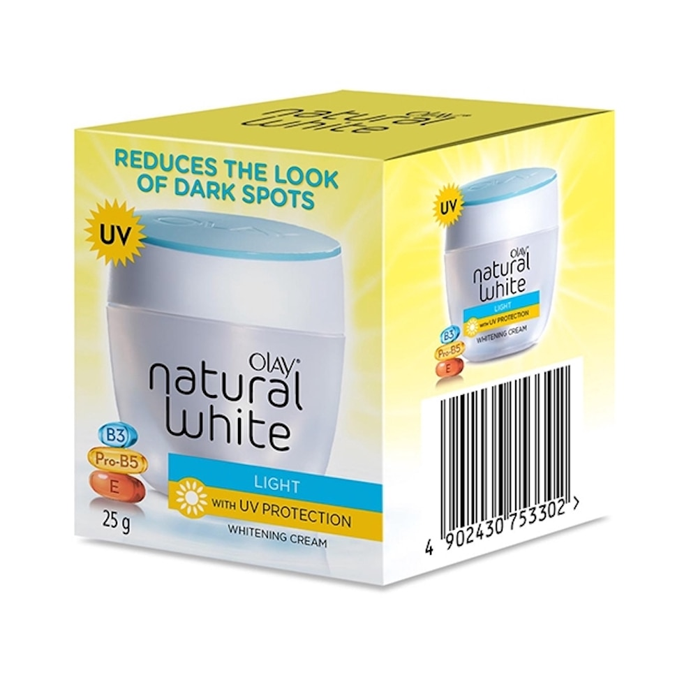 OLAYNatural White 25g Yellow Jar,For WomenHot Summer Drops