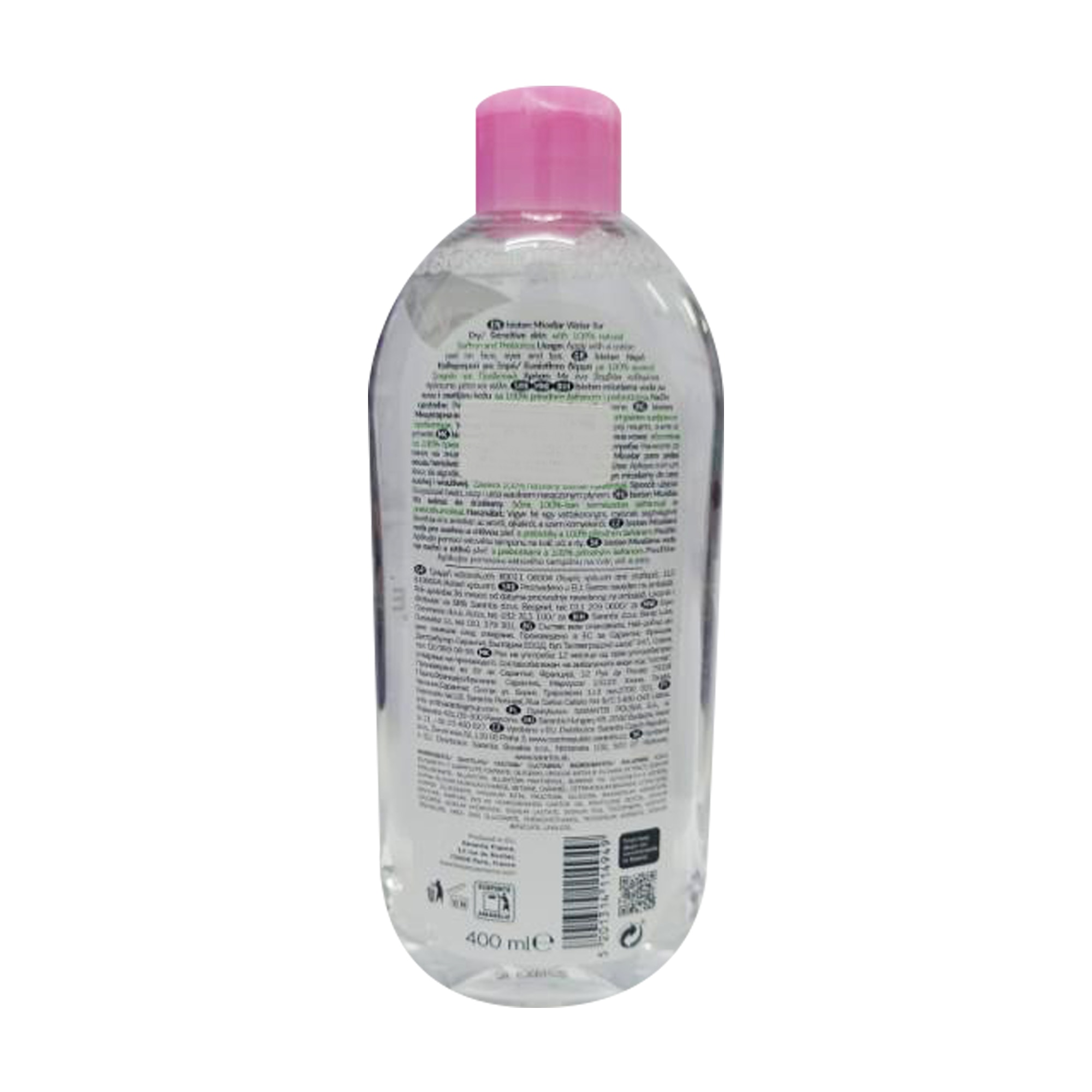 BIOTENSkin Moisture Micellar Water For Face, Eyes And Lips Dry/Sensitive Skin 400 ml,For MenClean Beauty