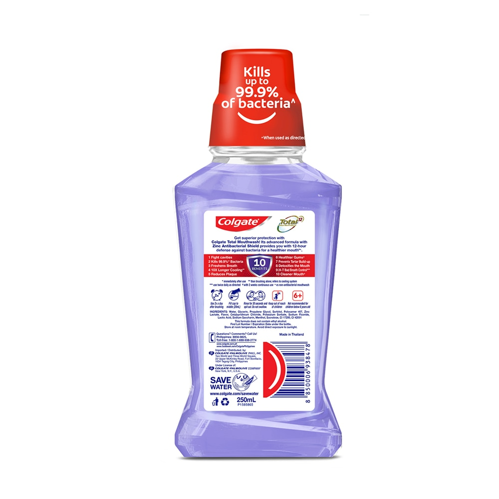 COLGATETotal Professional Clean Mint 250ml,Mouthwash and Oral AntisepticsOral Care