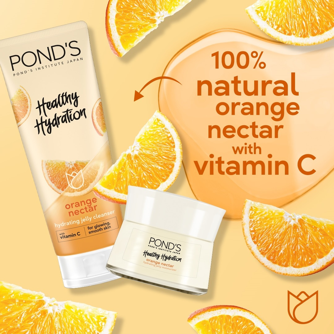 PONDSPond's Orange Nectar Jelly Cleanser with Vitamin C for Hydrated Skin100g,-Free Shipping